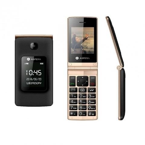 Aspera F24 Flip (Gold/Black) Brand New Phone