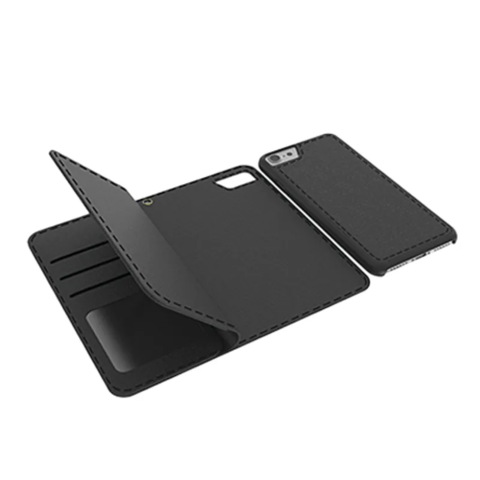 Cleanskin Flip Wallet with Mag-Latch For iPhone 6 Plus 7 Plus 8 Plus 1