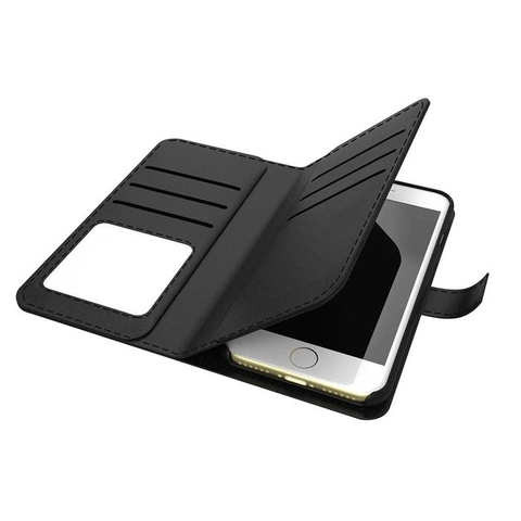Cleanskin Flip Wallet with Mag-Latch For iPhone 6 Plus 7 Plus 8 Plus