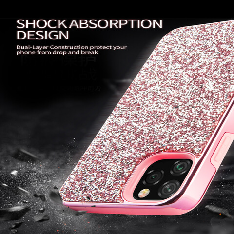 Apple iPhone 1212 Pro Diamond 2 IN 1 Case 1